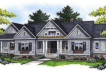 House Plan Design - Traditional Exterior - Front Elevation Plan #70-854