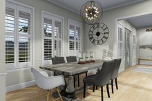 Dream House Plan - Farmhouse Interior - Dining Room Plan #1060-48