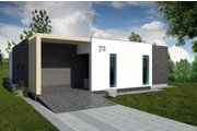 Contemporary Style House Plan - 3 Beds 2 Baths 1899 Sq/Ft Plan #906-21 Photo