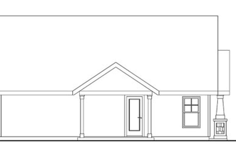 Craftsman Exterior - Other Elevation Plan #124-746 - Houseplans.com