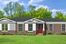 Traditional Exterior - Front Elevation Plan #932-306