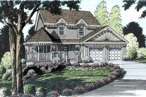 Victorian Exterior - Front Elevation Plan #312-157