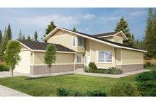 House Plan Design - Modern Exterior - Front Elevation Plan #126-220
