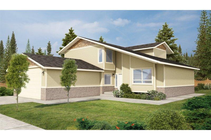 Modern Exterior - Front Elevation Plan #126-220