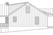 Cabin Style House Plan - 2 Beds 2 Baths 2033 Sq/Ft Plan #932-123