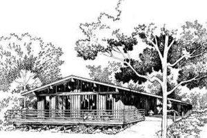 Modern Exterior - Front Elevation Plan #312-510