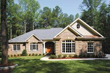 Dream House Plan - Traditional Exterior - Front Elevation Plan #56-541