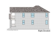 Traditional Exterior - Other Elevation Plan #930-498