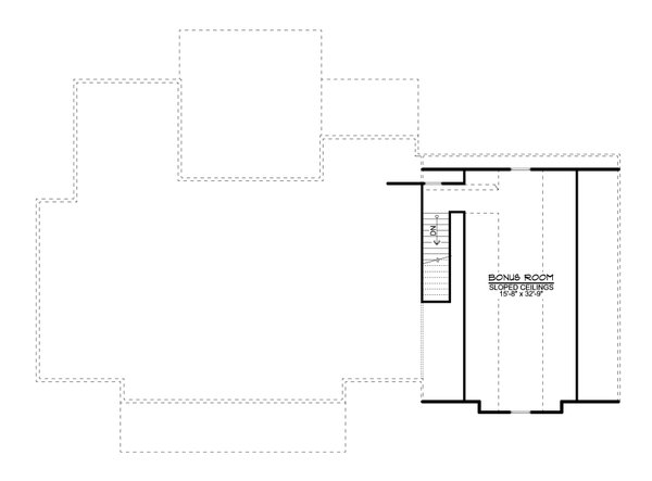 House Plan Design - Farmhouse Floor Plan - Upper Floor Plan #1064-122