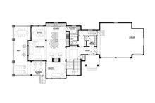 Traditional Floor Plan - Main Floor Plan Plan #928-11