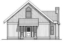 Home Plan - Modern Exterior - Rear Elevation Plan #93-201