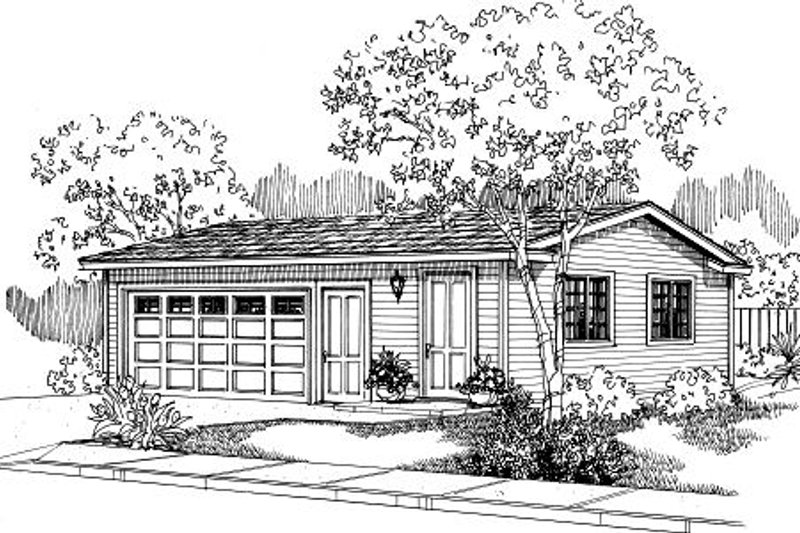 Traditional Exterior - Front Elevation Plan #124-652