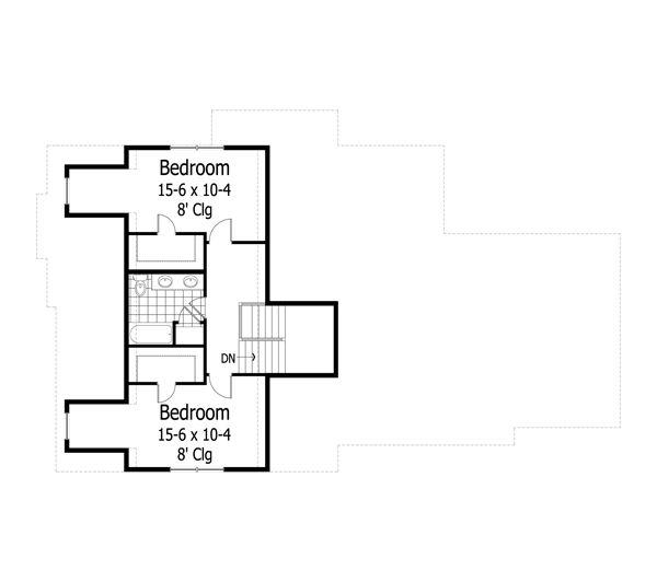 Traditional Floor Plan - Other Floor Plan Plan #51-454