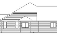 Dream House Plan - Craftsman Exterior - Other Elevation Plan #124-749