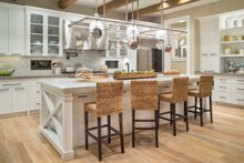 House Plan Design - Kitchen - 4900 square foot Colonial home