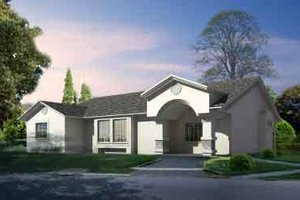 Traditional Exterior - Front Elevation Plan #1-1294