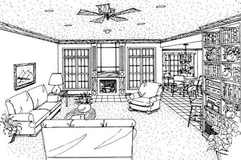 European Exterior - Other Elevation Plan #410-138 - Houseplans.com