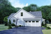 Country Style House Plan - 3 Beds 2.5 Baths 2031 Sq/Ft Plan #923-129 Exterior - Other Elevation