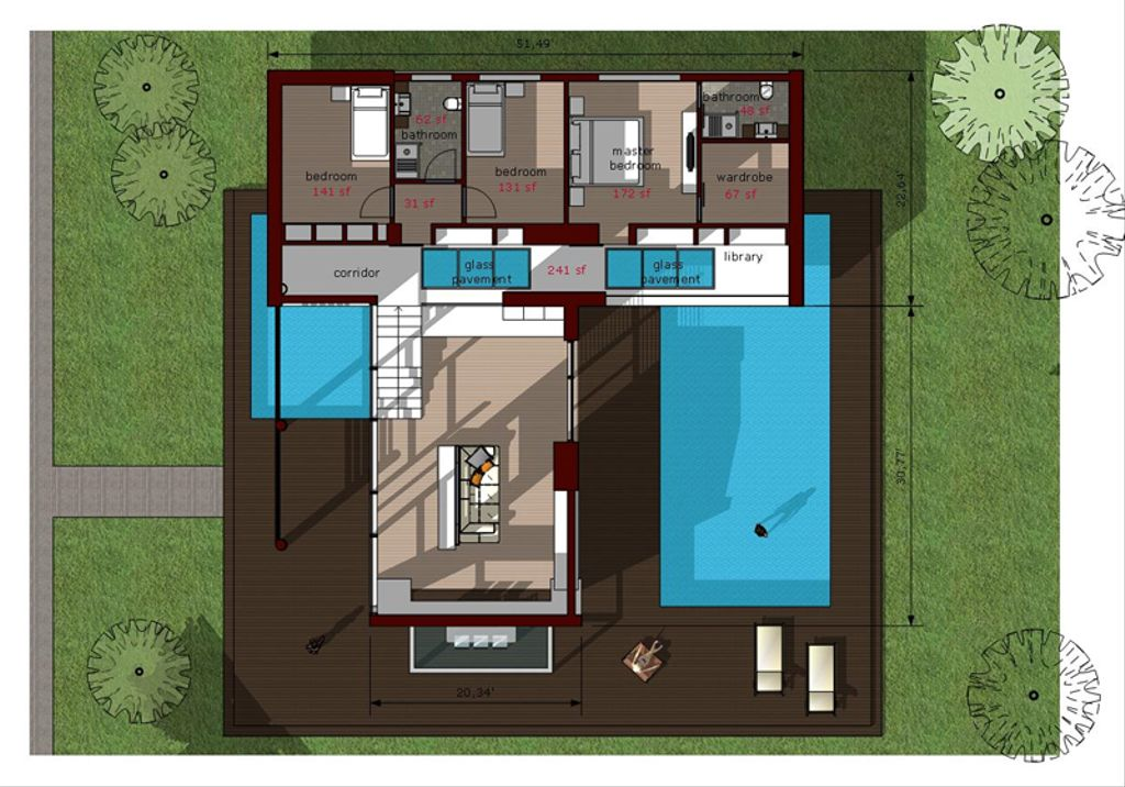 3 Beds 2 Baths 1380 Sq Ft Plan 473