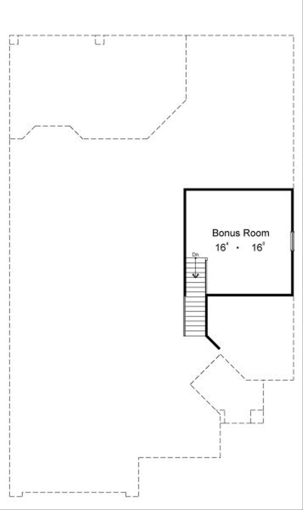 European Floor Plan - Other Floor Plan Plan #417-211