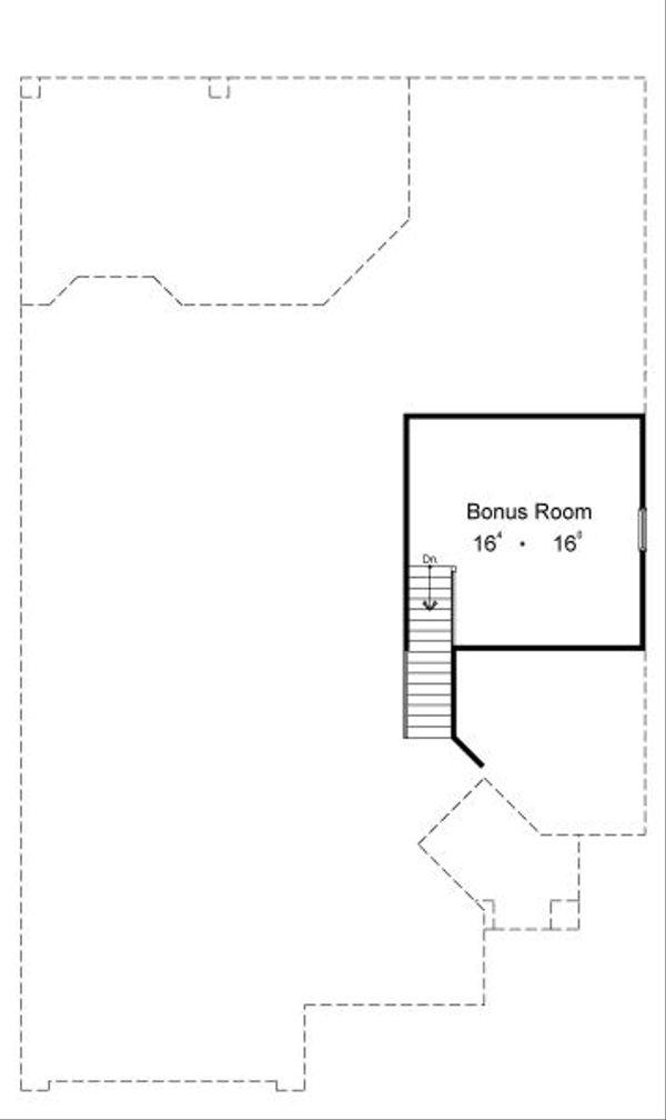 European Floor Plan - Other Floor Plan #417-211