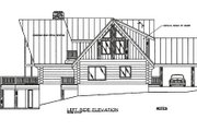 Log Style House Plan - 3 Beds 2 Baths 3303 Sq/Ft Plan #117-102 Exterior - Other Elevation