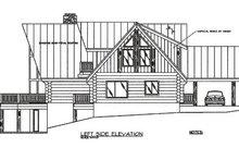 Log Exterior - Other Elevation Plan #117-102