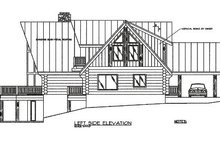 Home Plan - Log Exterior - Other Elevation Plan #117-102