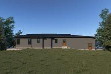 Dream House Plan - Contemporary Exterior - Rear Elevation Plan #1070-71