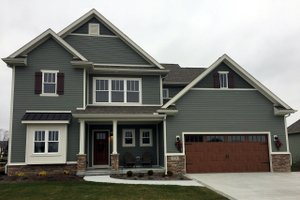 Home Plan - Traditional Exterior - Front Elevation Plan #20-2278