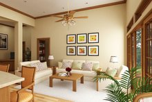 Dream House Plan - Cottage Interior - Family Room Plan #45-378