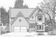 Traditional Style House Plan - 4 Beds 2.5 Baths 2110 Sq/Ft Plan #6-115