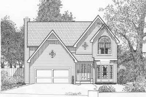 Traditional Exterior - Front Elevation Plan #6-115