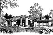 Modern Style House Plan - 4 Beds 3 Baths 2321 Sq/Ft Plan #417-235 Exterior - Other Elevation