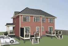 Traditional Exterior - Rear Elevation Plan #79-239