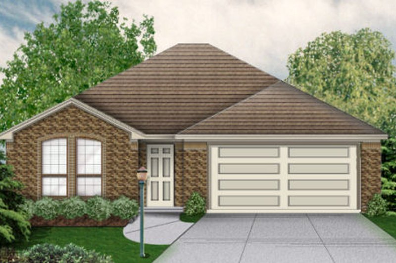 Traditional Exterior - Other Elevation Plan #84-471 - Houseplans.com