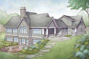 Country Style House Plan - 3 Beds 3.5 Baths 2332 Sq/Ft Plan #928-333 Exterior - Front Elevation