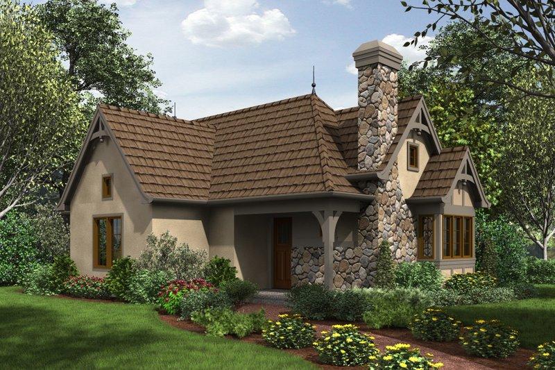Dream House Plan - Cottage Exterior - Front Elevation Plan #48-653