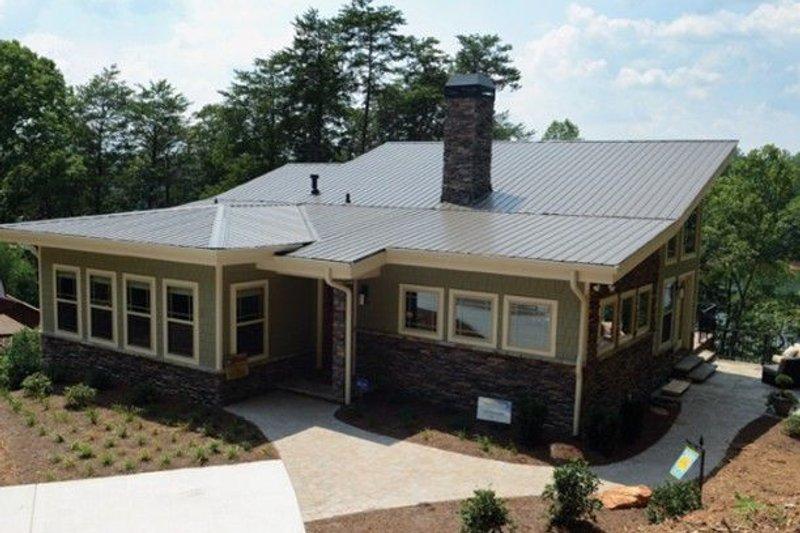 Architectural House Design - Modern Exterior - Front Elevation Plan #437-55