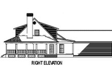 House Plan Design - Southern Exterior - Other Elevation Plan #17-546