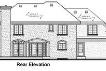 Dream House Plan - European Exterior - Rear Elevation Plan #23-344