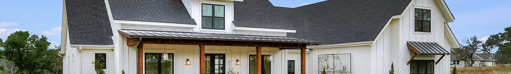 Ranch House Floor Plans & Designs with Front Porch
