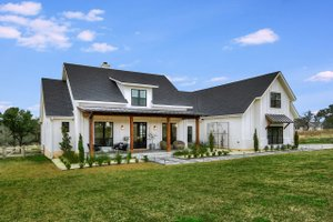 Farmhouse Exterior - Front Elevation Plan #430-156