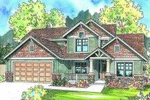 Craftsman Exterior - Other Elevation Plan #124-608