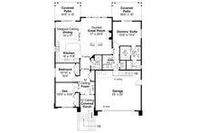 Prairie Floor Plan - Main Floor Plan Plan #124-1123
