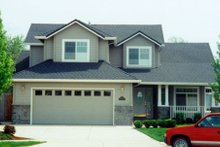 Home Plan - Traditional Exterior - Other Elevation Plan #124-444