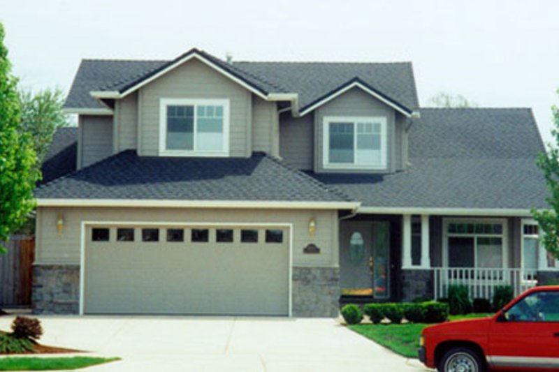 Traditional Exterior - Other Elevation Plan #124-444 - Houseplans.com