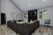 Architectural House Design - Traditional Interior - Family Room Plan #1060-61