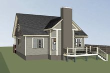 Dream House Plan - Craftsman Exterior - Rear Elevation Plan #79-234