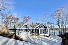 Dream House Plan - Craftsman Exterior - Front Elevation Plan #437-114